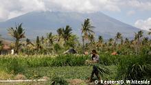 Indonesien Gunung Agung drohender Vulkanausbruch auf Bali