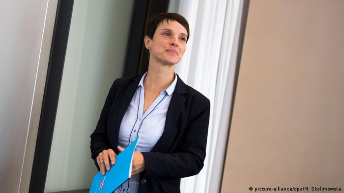 Ex-AfD leader Frauke Petry