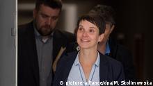 Deutschland Landtags-PK Frauke Petry kündigt Austritt aus AfD an