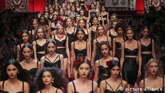 Dolce&Gabbana fashion show in Milan