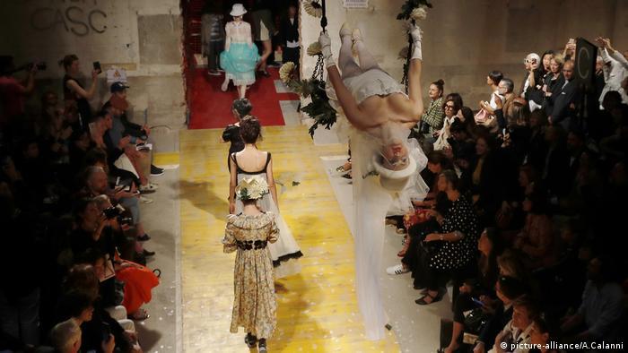 Italien, Mailand, Modenschau, Mode von Antonio Marras (picture-alliance/A.Calanni)