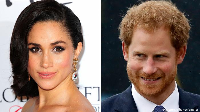 Prinz Harry und Freundin Meghan Markle (picture-alliance/empics)