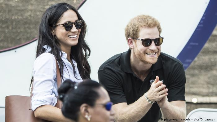 Prinz Harry mit Freundin Meghan Markle bei den Invictus Games in Toronto (picture-alliance/empics/D. Lawson)
