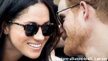 Prinz Harry mit Freundin Meghan Markle bei den Invictus Games in Toronto