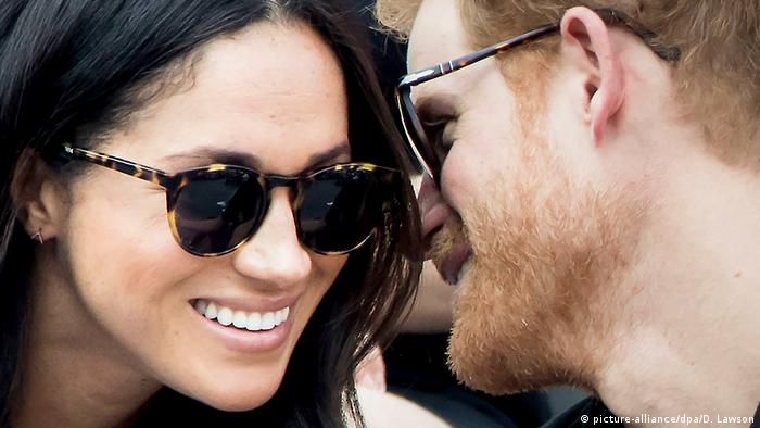 Prinz Harry mit Freundin Meghan Markle bei den Invictus Games in Toronto (picture-alliance/dpa/D. Lawson)