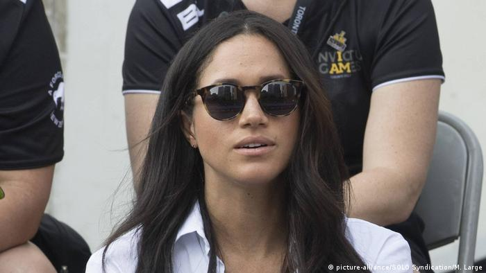 Meghan Markle at the Invictus Games in Toronto in 2017(picture-alliance/SOLO Syndication/M. Large)