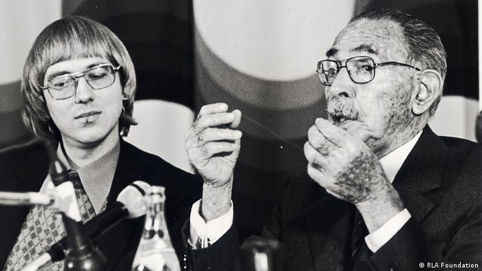 Jakob von Uexkull and Hassan Fathy, (RLA Foundation)