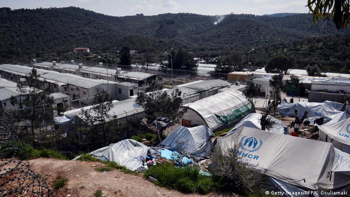 Griechenland Insel Lesbos Flüchtlingslage Moria