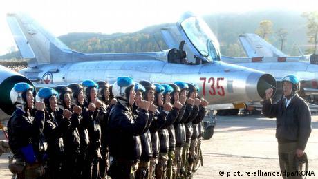Nordkorea Air Force Luftwaffe (picture-alliance/dpa/KCNA)
