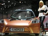 Konsept araçlardan Rinspeed iChange ilginç tasarımıyla dikkat çekiyor