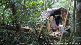 Brasilien Para Abholzung im Nationalpark Jamanxim (picture-alliance/dpa/H. Araujo)
