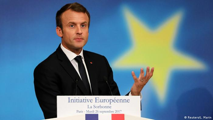 Emmanuel Macron French Savior Or Tormentor Europe News And Current Affairs From Around The Continent Dw 14 11 2017