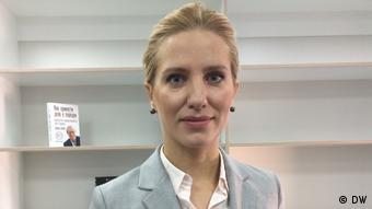 Світлана Заліщук - представниця молодого покоління в українській політиці
