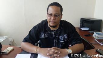 Mosambik Francisco Bauque Sprecher des Provinzialamtes gegen Korruption