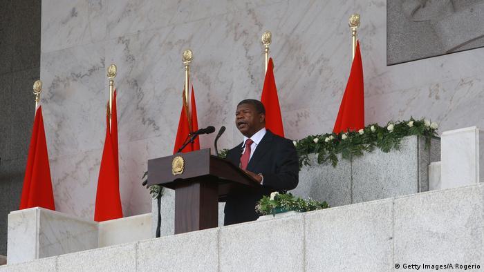 Angola Präsident Joao Lourenco