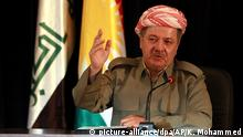 Irak Kurden-Führer Massud Barsani