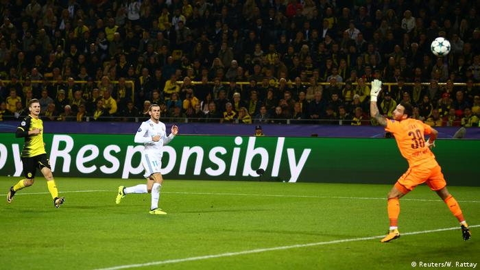 Fußball Champions League Borussia Dortmund v Real Madrid Tor Bale (Reuters/W. Rattay)