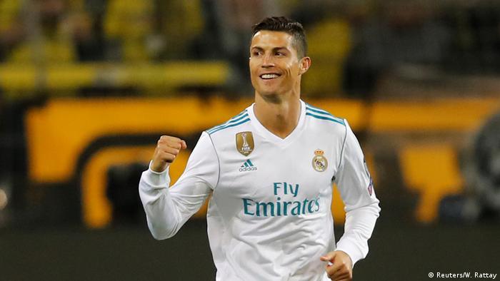 Fußball Champions League Borussia Dortmund v Real Madrid Torjubel Ronaldo