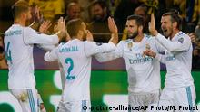 Fußball Champions League Borussia Dortmund v Real Madrid (picture-alliance/AP Photo/M. Probst)