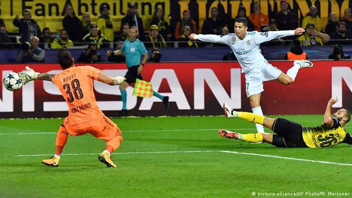 Fußball Champions League Borussia Dortmund v Real Madrid (picture-alliance/AP Photo/M. Meissner)