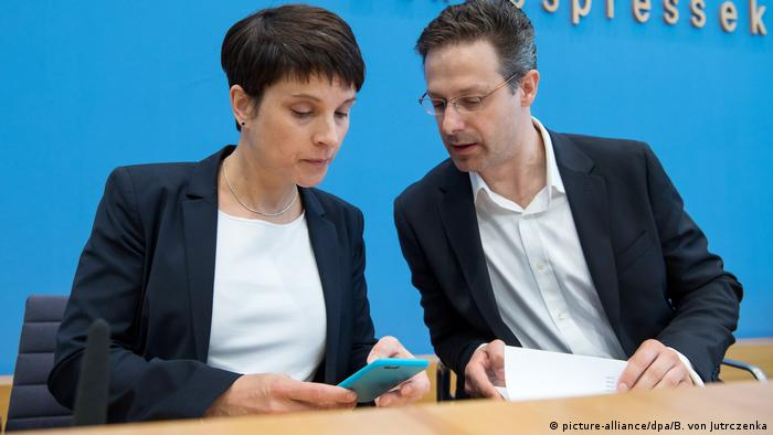 Frauke Petry and Marcus Pretzell in Berlin
