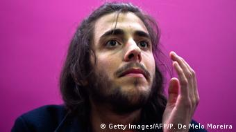 Portugal Sänger Salvador Sobral in Lissabon (Getty Images/AFP/P. De Melo Moreira)