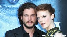 LOS ANGELES, CA - JULY 12: Actors Kit Harington and Rose Leslie attend the premiere of HBO's Game Of Thrones season 7 at Walt Disney Concert Hall on July 12, 2017 in Los Angeles, California. (Photo by Frederick M. Brown/Getty Images)