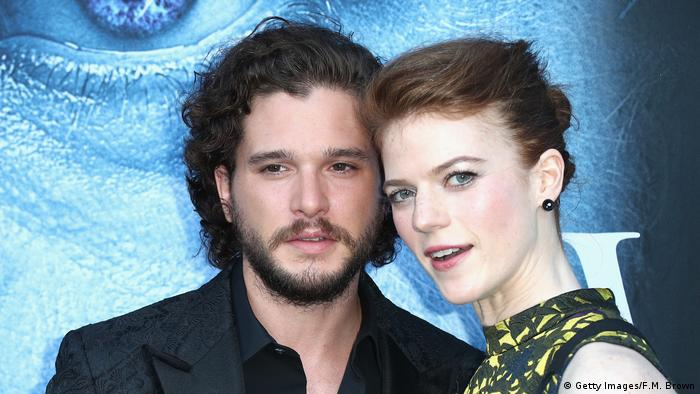 Kit Harington und Rose Leslie (Getty Images/F.M. Brown)