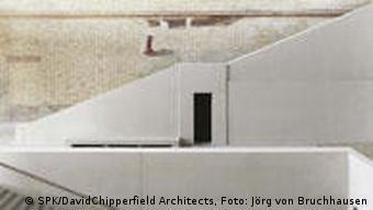 Minimalistyczne schody Nowego Muzeum
