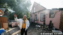 Ukraine Explosion Munitionslager in Kalyniwka