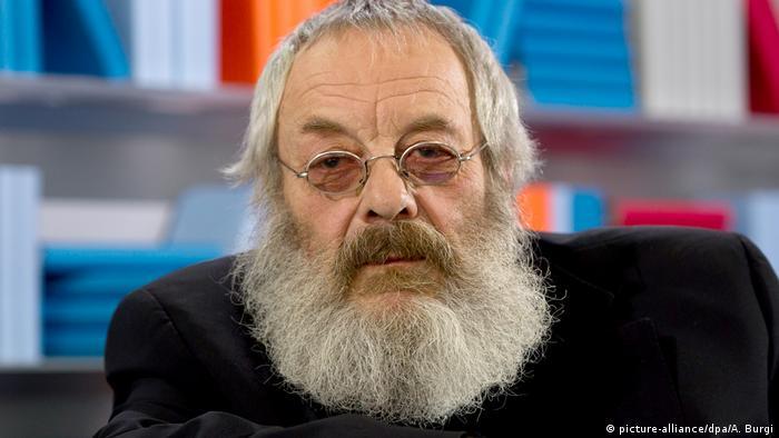 Porträt Harry Rowohlt (picture-alliance/dpa/A. Burgi)