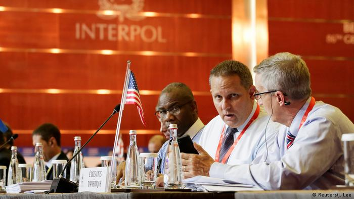 Interpol General Assembly meeting in Beijing