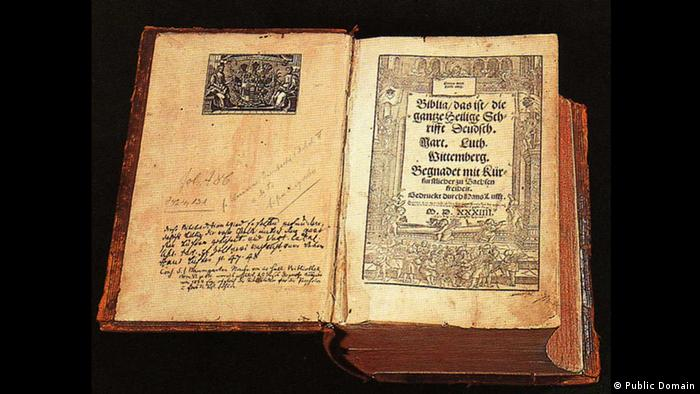 Luther's Bible (Public Domain)