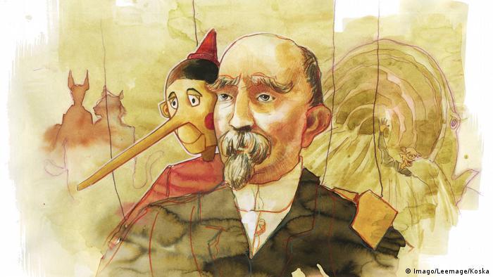 Portät Carlo Collodi Autor von Pinocchio (Imago/Leemage/Koska)