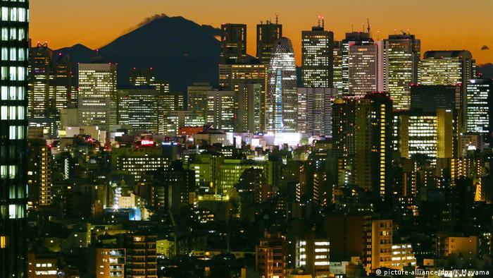 Tokio, Wolkenkratzer (picture-alliance/dpa/K.Mayama)
