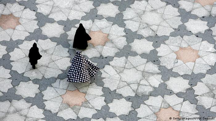 Saudi Arabien Medina Frauen Pilger (Getty Images/AFP/K.Desouki)