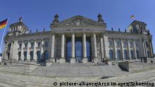 Deutschland Reichstag, Parlament und Bundestag