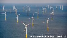 Deutschland Windenergie Offshore-Windpark Butendiek