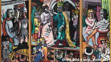 Max Beckmann in Bremen, Motiv: Schauspieler, 1941/42