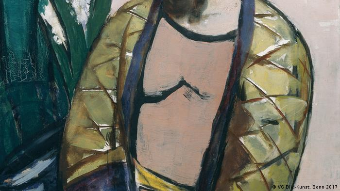 Max Beckmann in Bremen,Self-Portrait with Saxophone (1930) (VG Bild-Kunst, Bonn 2017)