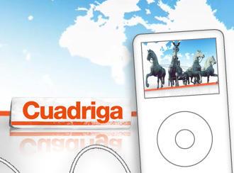Cuadriga: ahora también en formato audio para llevar.