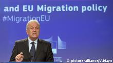 Brüssel, Dimitris Avramopoulos, EU-Kommissar Migration