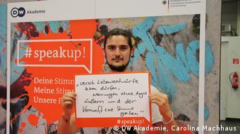 #speakup! Testimonial