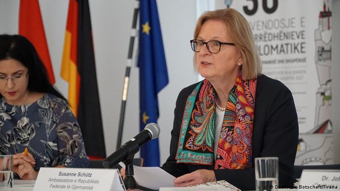 Susanne Schütz je bila njemačka ambasadorica u Albaniji