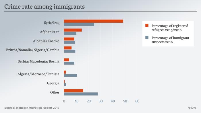 Crime rates among migrants ENG