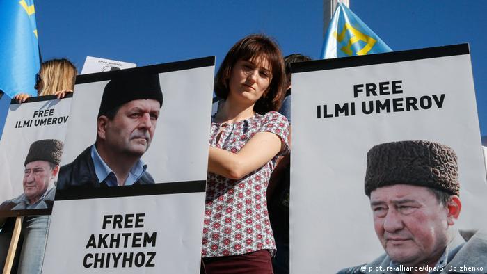 Акція на підтримку Чийгоза та Умерова в Києві (фото з архіву)