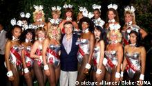 Hugh Hefner Gründer Playboy Magazin Bunnies