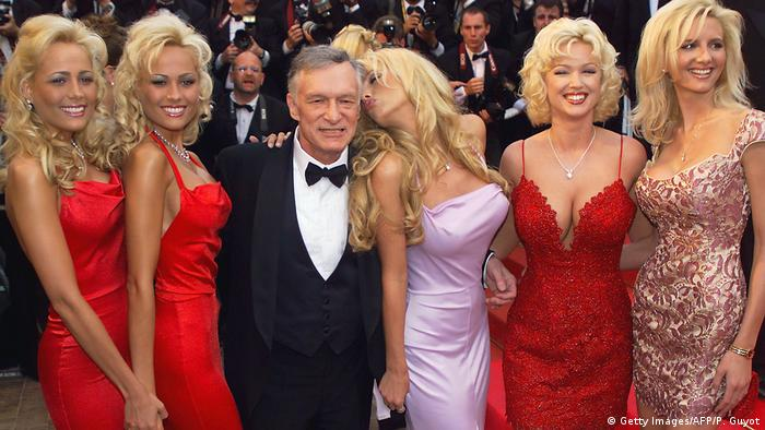 Hugh Hefner Gründer Playboy Magazin (Getty Images/AFP/P. Guyot)
