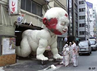 Will Berlin's Superbaby grow up to destroy Tokyo? Probably not.