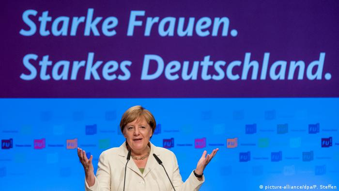 Angela Merkel at the Women's Union